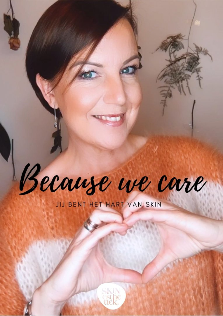 Because we care ..